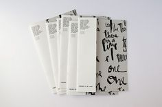 Book design & typography layout