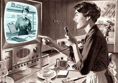 retro video chatting image