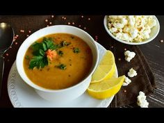 ▄ Supa de linte ca la mama (turcului) acasa ▄ Turkish lentil soup ▄ Vegan Soup Recipes video recipe – The Most Practical and Easy Recipes Vegan Lentil Soup, Romanian Food, Recipe Steps, Vegan Dinners, Soup And Salad, Lentils, Bon Appetit, Food Videos, Thai Red Curry