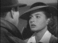 """""""Es cierto que perteneces a Victor. Eres parte de su obra, eres su vida. Si ese avión despega y no estás con él lo lamentarás, tal vez no ahora, tal vez ni hoy ni mañana, pero más tarde, toda la vida. Siempre nos quedará París. No lo teníamos, lo habíamos perdido, hasta que viniste a Casablanca, pero lo recuperamos anoche. Nunca me dejarás, yo también tengo mi labor que hacer, y no puedes seguirme adonde voy, en lo que voy a hacer no puedes tomar parte... Yo no valgo mucho, pero es fácil…"""