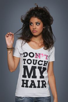 Camiseta Don't Touch My Hair - Chico Rei