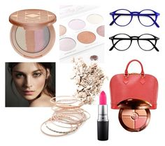 """""""make"""" by efrat-kazoum on Polyvore featuring beauty, Louis Vuitton, Boohoo, NARS Cosmetics, tarte, MAC Cosmetics, Burberry, Red Camel and Guerlain"""
