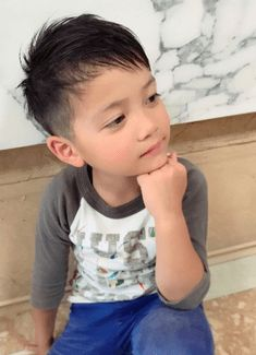 Children, boys hairstyle is cut off at home? Introduction How to cut, tips, the Kariage how in the clippers! Asian Boy Haircuts, Kid Boy Haircuts, Kids Hairstyles Boys, Asian Haircut, Baby Boy Hairstyles, Summer Haircuts, Kids Cuts, Boy Cuts, Baby Haircut