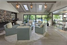 - Coastal - Living room - Images by Benning Design   Wayfair