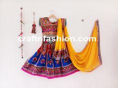 Chaniya Choli For Kids, Garba Chaniya Choli, Garba Dress, Dandiya Dress, Bohemian Kids, Ghaghra Choli, Festival Wear, Dance Costumes, Dance Wear