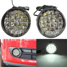 Cheap car interior led lamp, Buy Quality car ceiling lamp directly from China car alarm with gps tracker Suppliers: New 18 LED Round Car Driving Daytime Running Light DRL Fog Lamp Bright White Car LED Offroad Work Light Car Bulbs, Car Headlight Bulbs, Atv Car, Vehicle, Cheap Cars, Car Brands, Work Lights, White Light, Running