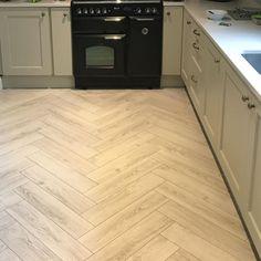 "North Dublin Flooring on Instagram: ""12mm Ac6 herringbone laminate"" Laminate, Flooring, Kitchen Dining, Herringbone Laminate Flooring, Herringbone, 12mm, Dining, Herringbone Floor"