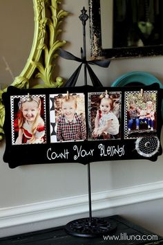 Count Your Blessings Photo Holder