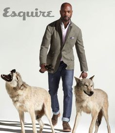 Cashmere-and-wool jacket ($3,395) by Brunello Cucinelli; cashmere sweater ($745) and leather gloves ($375) by Ermenegildo Zegna; cotton shirt ($795) by Kiton; cotton jeans ($250) by Prada; leather boots ($510) by Rag & Bone; steel Day/Date watch ($2,800) by TAG Heuer; silk pocket square ($95) by Canali.