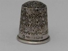 Solid Silver Thimble Birmingham 1913   eBay
