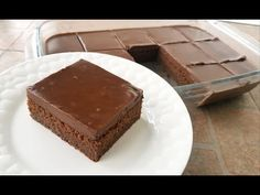 Torta Fantastica al Cioccolato RICETTA PERFETTA! - YouTube Muffin Recipes, Cake Recipes, Dessert Recipes, Desserts To Make, No Bake Desserts, Mousse Mascarpone, Super Torte, Pasta Cake, English Food