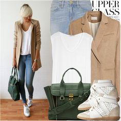 1184. Street Style: Netherlands by chocolatepumma on Polyvore featuring moda, T By Alexander Wang, H&M, Frame Denim, Isabel Marant, 3.1 Phillip Lim and Oris