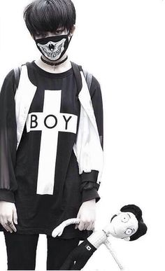 Boy London #ulzzang #kfashion
