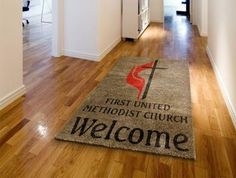 Create a custom logo mat with almost any logo design you are looking for! Rug Rats is a trusted name in Custom Logo Rugs & Mats. Free Samples available.