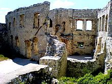 Ruiny zamku w Kazimierzu Dolnym