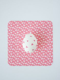 DIY Geometric Washi Tape Easter Eggs