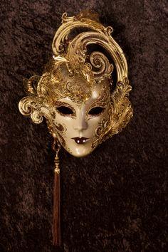 Desio venetian mask, ball mask, masquerade mask, carnival venetian mask in papier mache