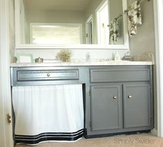 how to update your master bathroom for free, bathroom ideas, diy, home decor, painting
