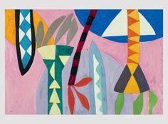 Manique, Gillian Ayres. Oil on canvas 2010. Alan Cristea Gallery - 31 & 34 Cork Street London W1