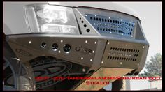 2007 - 2013 Custom Front Bumper for the Chevy Tahoe & Chevy Avalanche. Nissan Trucks, Custom Trucks, Cool Trucks, Chevy Trucks, Pickup Trucks, Custom Truck Bumpers, Lifted Chevy, 2014 Chevy Tahoe, Off Road Bumpers