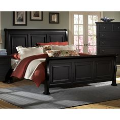 Virginia House Reflections Sleigh Bed