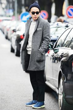 grey coat :: Eugene Tong