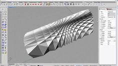 Grasshopper Tutorial - Folded Plate Structure on Vimeo