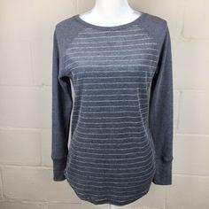Northcrest Aqua Blue Sequins Layered Look Cotton Knit Top T Tee shirt Plus 2X