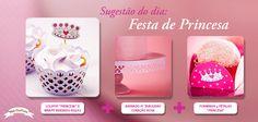 Uma Festa de Princesa com charme e beleza!