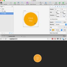 Rapid Prototyping with Gulp, Framer.js and Sketch