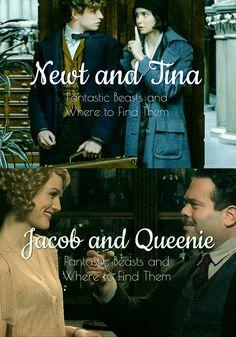 Fantastic Beasts couples