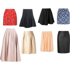 Designer Clothes, Shoes & Bags for Women Capsule Wardrobe, Skater Skirt, Shoe Bag, Skirts, Stuff To Buy, Shopping, Collection, Design, Women