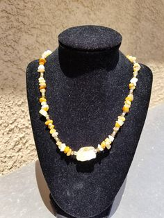 Check out this item in my Etsy shop https://www.etsy.com/listing/534161248/raw-citrine-citrine-chip-necklace