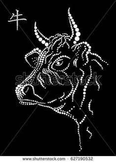 Find Bull stock images in HD and millions of other royalty-free stock photos, illustrations and vectors in the Shutterstock collection. Dot Art Painting, Mandala Painting, Rhinestone Crafts, Beautiful Dark Art, Mandala Dots, Dots Design, Diamond Art, Art Plastique, Animal Design