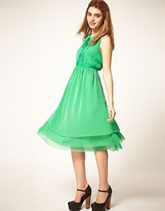I love the collar and bodice, but not sure on the color. #bridesmaid