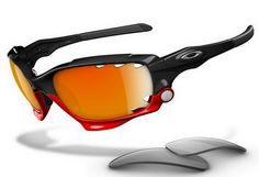 a833e11e19 Oakley Jawbone Polished Black Fire Iridium Vented & Light Grey Sunglasses