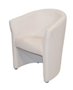 Fauteuil Foster blanc