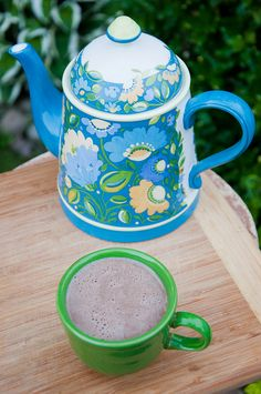 MICROWAVE HOT COCOA (VEGAN)    What you'll need . . .     1 tablespoon cocoa powder   1 tablespoon Sugar in the Raw (or sugar)   1 cup almond milk (unsweetened)     Method . . .     In a large mug, whisk together the cocoa powder, sugar, and 3 tablespoons of the almond milk.   Then add the rest of the almond milk and stir well.   Put mug in the microwave and heat on high for 1 minute. Then stir. Heat for an additional minute and stir again.