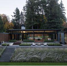Dream Home Design, Tiny House Design, Modern House Design, Home Building Design, Building A House, Residential Architecture, Art And Architecture, Villa Design, Showcase Design