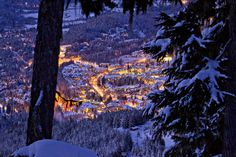 Whistler by Night