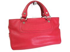 #Sale: was $260 now $214 ! #Celine Boogie Bag Tote Bag Leather Red(BF047300)