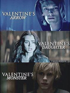 Jace, Clary, and Sebastian