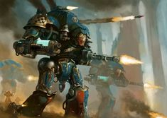 Essentially a mobile towering fortress, a Knight Castellan is piloted by a single high-ranking Noble Lord and armed with a vast array of fearsome long-range weaponry. Warhammer 40k Art, Warhammer Models, Warhammer Fantasy, Space Marine Dreadnought, Imperial Knight, Knight Art, Star Trek Enterprise, The Grim, God Of War
