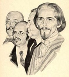 "That weird ""Old Beatles"" portrait where George looks like William Shakespeare!"