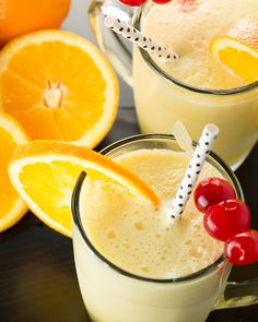 Make the classic Orange Julius right at home without a trip to Dairy Queen! This Orange Julius is made with simple ingredients that you likely already have on hand. It's frothy and refreshing!