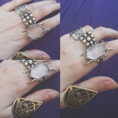 Can i have all her rings?? She has the best style :)