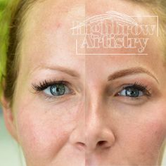 Wow, just WOW! Microblading done by Nicole at Highbrow Artistry located in Lexington KY www.highbrowbrowbar.com