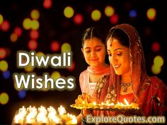 Choose among hundreds of genuine heartfelt Diwali wishes and messages. Make someone smile with a spectacular way of saying Happy Diwali.