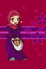 Chibi Drawings (Cute Muslim Characters) - Muslim Manga and Anime Drawings | IslamicArtDB.com | Page 9