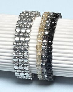 Free Beading Projects: Pellet beads bangle Use the new Pellet beads in this quick and easy bangle by Kerrie Slade.